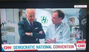 Research Featured at Democratic National Convention